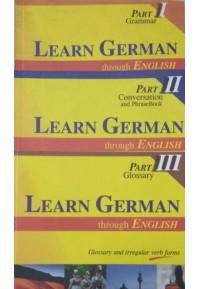 Learn German Through English ( 3 vols )